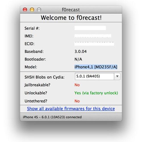 F0recast Ứng Dụng Xem Thông Tin IDevice Cập Nhật Lên 1.4.1 Forecast-500x500